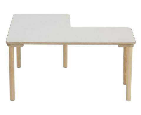 Winkeltisch Hoehe 58 cm