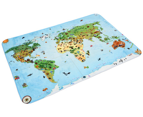 Welt-Teppich