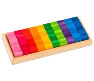 Mosaik-Bauplättchen, 100-tlg.