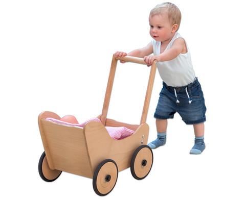 Puppenwagen inkl Bettwaesche-5