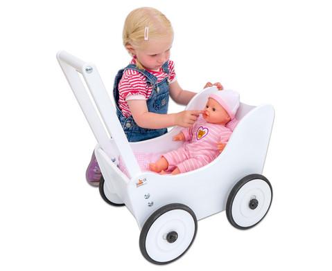 Puppenwagen inkl Bettwaesche-9