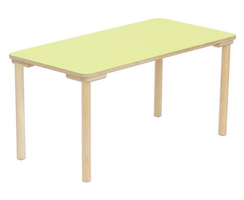 Rechteck-Tisch Hoehe 25 cm