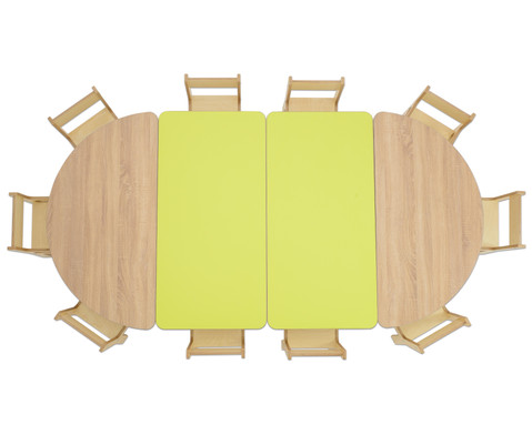 Tisch halbrund Hoehe 46 cm-3