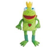 Handpuppe Froschkönig