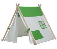 Dreiecks-Zelt, grün