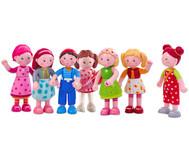 Ritter-Set 14-tlg Kinder-Spielzeug Ritter-Burg Biege-Puppen Zubehör Betzold