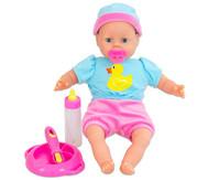 Babypuppe Laura mit Zubehör