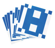 10 Vorlage-Karten für Übungswürfel