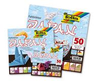 Faltblätter Japan in drei Grössen