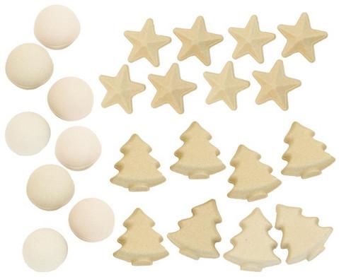 Papp-Weihnachtsanhaenger 12 Stueck