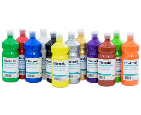 Betzold Temperafarbe 1l verschiedene Farben
