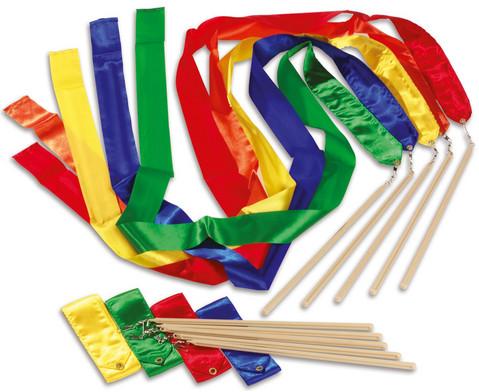 Betzold Sport Farbige Rhythmikbaender 5 Stueck