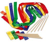 Farbige Rhythmikbänder