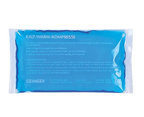 Thermo Kalt--Warm-Kompresse