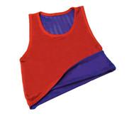 Wendehemd, blau/rot