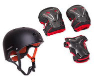 Protection-Set: Helm inkl. Protektoren