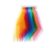 12 Jonglier-Tücher 65 x 65 cm in einer Farbe
