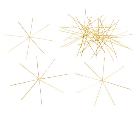 10 Draht-Sterne 11 cm oder 13 cm-1