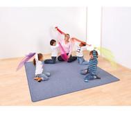 Teppich quadratisch, 2 x 2 m