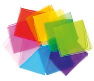 Chiffon-Tücher, 10 Stück, in Einzelfarben