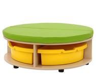 Maddox Sitzkombination 1, grüne Sitzmatten