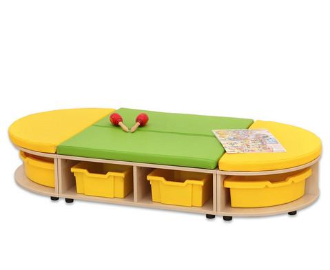 Maddox Sitzkombination 3 gemischte Sitzmatten