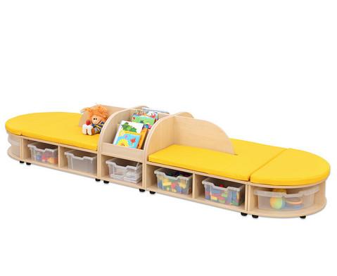 Maddox Sitzkombination 5 gelbe Sitzmatten