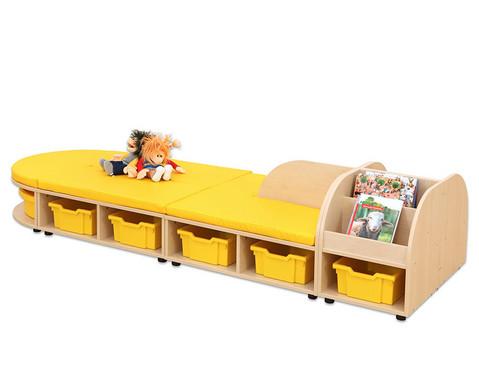 Maddox Sitzkombination 8 Sitzmatten gelb