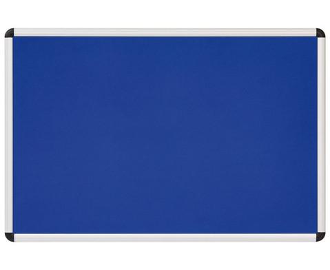 Textiltafel blau mit Alurahmen-1