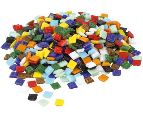 Bunte Mosaik-Glassteine 1 kg
