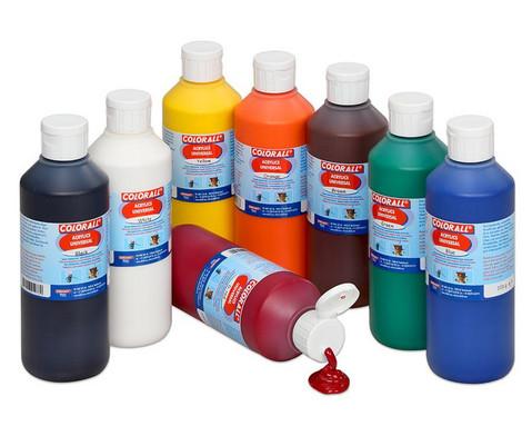 Acrylfarbe Einzelfarben je 500 ml-1