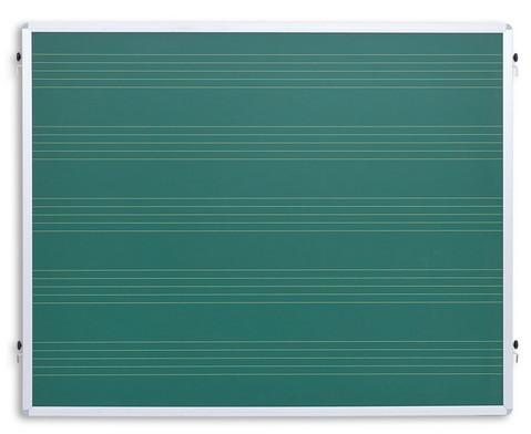 Einhaengetafel mit Notensystemen gruen-1