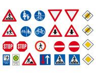 Grosse Verkehrszeichen