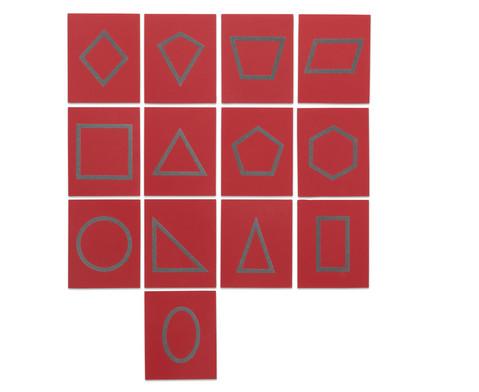 Betzold Fuehl- und Tastplatten geometrische Formen