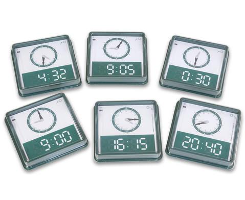 Uhrzeiten erkennen und benennen
