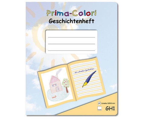 Prima-Colori Geschichtenhefte 5er-Sets-1