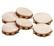 Betzold Musik Tamburine mit oder ohne Schellen
