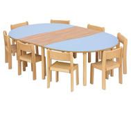 m bel set rondino sitzh he 42 cm tischh he 70 cm. Black Bedroom Furniture Sets. Home Design Ideas