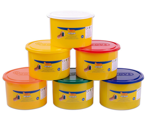JOVI Soft-Knetmasse verschiedene Farben