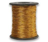 Anhängerband, Stärke: 0,5 mm, 100 m, Gold