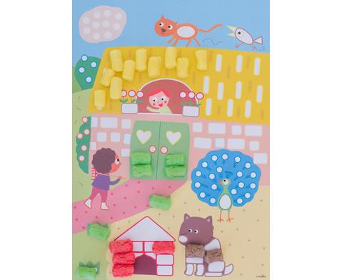 PlayMais Riesen Wandbild Landschaften-5