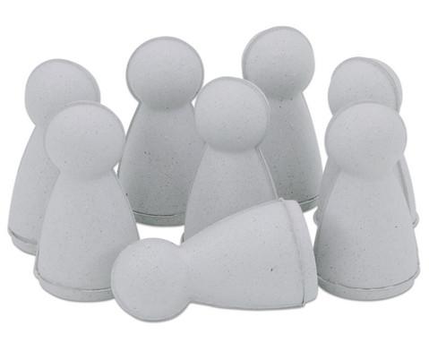Spielfiguren aus Pappe 8 Stueck