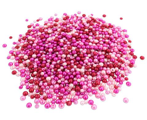 Metallicperlen-Set Pink-Toene