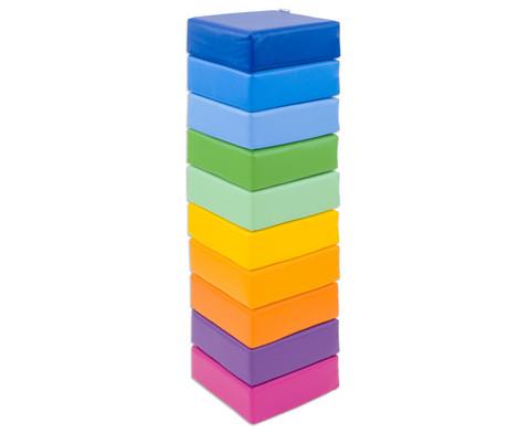 Sitzkissen Regenbogen 10-tlg-1