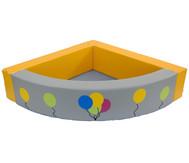 Eckbällebad Luftballons