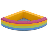 Eckbällebad Regenbogen