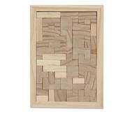 Tris Holz-Legespiel