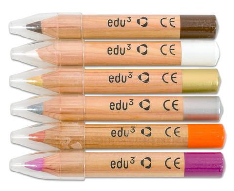 edu Schminkstifte 6er-Set