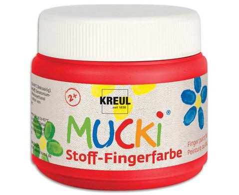 MUCKI Stoff-Fingerfarbe 4er Set-3