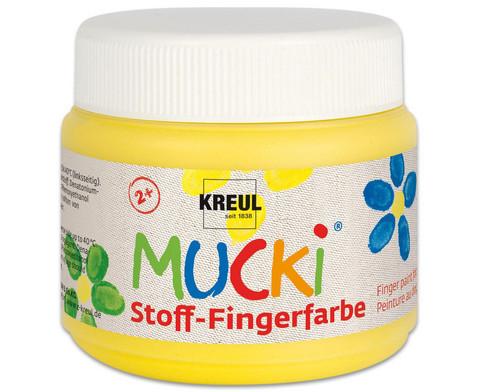 MUCKI Stoff-Fingerfarbe 4er Set-4